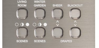 Systemteq Switchplate 8B Brushed Steel